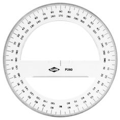 Protractor 360 degree 1015 cm lyra made in germany protractor percent circle template printable for educational purpose use this printable template to learn mathematical circle degrees easily pronofoot35fo Choice Image
