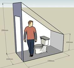 Resultado de imagen de toilet under the stairs Ergebnis der Toilette unter der Treppe – This. Small Attic Bathroom, Bathroom Under Stairs, Loft Bathroom, Bathroom Layout, Toilet Under Stairs, Bathroom Ideas, Attic Bedroom Designs, Attic Bedrooms, Attic Design
