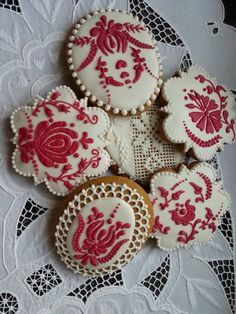 . Sweet Cookies, Ginger Cookies, Iced Cookies, Fun Cookies, Sugar Cookies, Ginger House, Honey Cake, Ginger Bread, Sugar Art