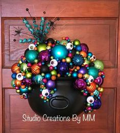 Excited to share this item from my shop: Whimsical Witch Cauldron Cauldron Wreath Halloween Decor Cauldron Door Hanger Witch Cauldron Cauldron Halloween Spooky Halloween, Theme Halloween, Dollar Store Halloween, Outdoor Halloween, Diy Halloween Decorations, Holidays Halloween, Happy Halloween, Halloween Wreaths, Whimsical Halloween