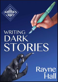 "Caity picked up ""Writing Dark Stories (Writer's Craft Book 6)"" by Rayne Hall"