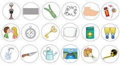 """Ideenreise: Bildkarten """"Wörter mit ss/ß"""""""