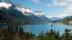 Glacier National Park by train