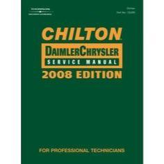 Chilton Chrysler 2008 Service Manual