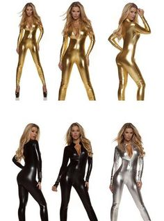 6659cb0f58b This versatile shiny catsuit is perfect for a Catwoman costume or just  because you want.