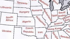 GDP Soulmates: Does Your US Home State Have the GDP of an Entire Country?