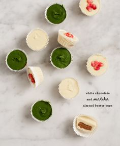 White Chocolate Almond Butter Cups