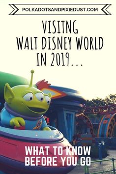 Walt Disney World in 2019 has a lot happening! See everything you should know before you go on your Walt Disney world in 2019. #disney2019 #waltdisneyworld