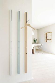 Interior Design Magazine Finalist: Line Storage Rack – Design & Trend Report Interior Design Magazine, Davis Furniture, Coat Storage, Rack Design, Diy Door, Halls, Apartment Design, Home Accessories, Small Spaces