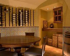 Garage Apartment    Bedroom  Bath And Wine Cellar , Mediterranean Wine Cellar, Charlotte
