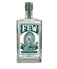 That's one fine looking bottle of gin.