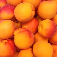A relative of the peach, nectarine, plum and cherry! Apricots are fragrant, with a soft, velvety skin that ranges from pale yellow to deep orange!! The British apricot season is from May to September #CSL #Countysupplies