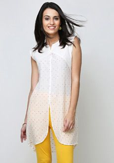 Yepme Laura Asymmetrical Kurti - Off White