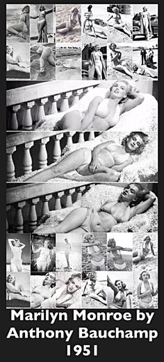 Marilyn Monroe by Anthony Bauchamp