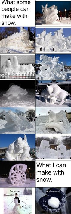 Not everyone can be pros, but you can come watch the pros sculpt snow this week on 4th St. in Downtown Loveland.
