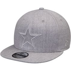 pretty nice 6d70e 49dbb Men s Dallas Cowboys New Era Heathered Gray Twisted Frame 9FIFTY Adjustable  Hat, Your Price