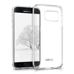 Amazon.com: Kalibri crystal case for Samsung Galaxy S7 plastic protective case with TPU-Silicone edges in transparent: Computers & Accessories