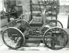 1896,   first Ford to roll out of Detroit, Michigan!   Start of Motor City