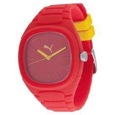 Relógios Bubble Gum Vermelho – Puma - http://batecabeca.com.br/relogios-bubble-gum-vermelho-puma.html
