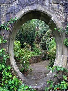 portal to garden