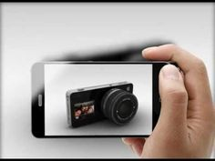 Apple iCam Concept by Italian designer Antonio DeRosa. So freaking cool.     They should make this RIGHT NOW.