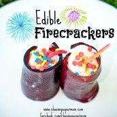 "Edible ""Firecrackers"""