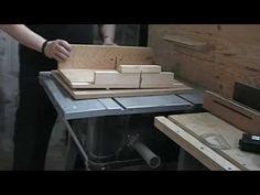 DIY Chariot / traineau pour scie sur table …. Cross cut sled jig … Kastepat