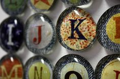 Everyday Art: Alphabet Magnets