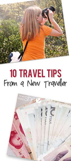 10 Travel Tips From a New Traveler. Planning an adventure? Traveling with your family? Here are some great tips and tricks for a fantastic getaway! howdoesshe.com #travelingtips