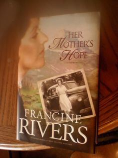 Francine Rivers----favorite author. I'm trying to collect all of her books.