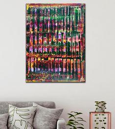 Modern Spectra and Lights (2020) by Nestor Toro - ABSTRACT ART - NESTOR TORO - LOS ANGELES Large Painting, Acrylic Painting Canvas, Abstract Painters, Abstract Art, Abstract Expressionism Art, Painting Edges, Color Blending, Lights, Fine Art