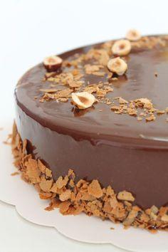 New cake designs diy sweets ideas Entremet Praline, Pastry Recipes, Dessert Recipes, Bolo Fresco, Entremet Recipe, Chocolate Mousse Cake Filling, Cake Chocolate, Hazelnut Cake, Hazelnut Praline