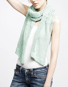 Lacey Sissi Scarf Kit by Wool and the Gang