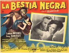 La Bestia Negra Mexican Lobby Card