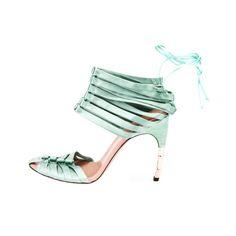 TOM FORD for GUCCI SATIN CORSET SHOES - More Details → http://sharonfashionwebsites.blogspot.com/2013/06/tom-ford-for-gucci-satin-corset-shoes.html.