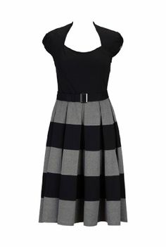 eShakti Women's Her fifties colorblock knit dress L-14 Short Black/gray eShakti,http://www.amazon.com/dp/B00IJ77CXE/ref=cm_sw_r_pi_dp_3w8ytb0PK9MZFW4Q