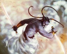 Blue Genie by ~Sycra on deviantART