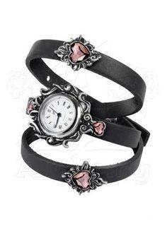 Heartfelt Watch by Alchemy Gothic | Gothic Jewellery