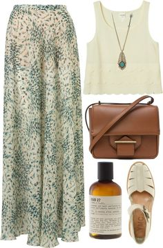 25 Long Skirt Outfits You will Love - for Summer/Spring/Fall
