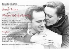 Krista Yates Front Simple Wedding Invitations, Michael J, Announcement, Marriage, Couple Photos, Celebrities, Valentines Day Weddings, Couple Shots, Celebs