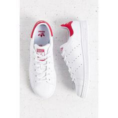 adidas Originals Stan Smith Sneaker ($65) ❤ liked on Polyvore