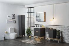 9 Sensational Small Bathroom Ideas on a Budget - Interior Design Labs - Bathroom Design, Bad Inspiration, Bathroom Inspiration, Bathroom Layout, Bathroom Interior Design, Bathroom Designs, Modern Bathroom, Vitra Bathrooms, Small Bathroom Ideas On A Budget, Contemporary Baths