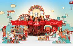 Coke Storyteller on Web Design Served