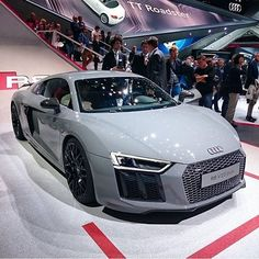 Nardo Grey Audi R8 V10 Plus