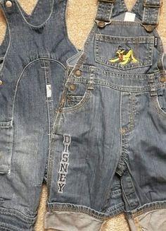 Kaufe meinen Artikel bei #Mamikreisel http://www.mamikreisel.de/kleidung-fur-jungs/sets-and-kleidungspakete/33339923-2-schone-jeans-latzhosen