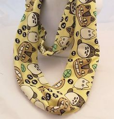 Jazz up any outfit with a Studio Ghibli Scarf. Lots of colors and styles to choose from!