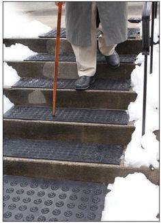 Heated Stair Mats From Canada Mats Are Canadian Products Which Ensure  Safety Against Slipping From Snow And Ice Accumulation And Are Ideal For  Senior Homes, ...