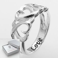 #Kohls                    #ring                     #Sterling #Silver #Love #Heart #Ring                Sterling Silver Love Heart Ring                                               http://www.seapai.com/product.aspx?PID=43552