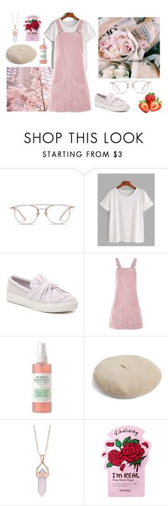 """""""Amore"""" by jeerios ❤ liked on Polyvore featuring Topshop, Mario Badescu Skin Care, Belk Silverworks and TONYMOLY"""