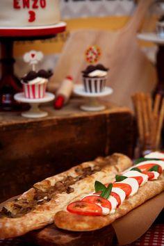 Pizzeria Decorating Ideas | Pizza-themed-birthday-party-full-of-cute-ideas-via-Karas-Party-Ideas ...